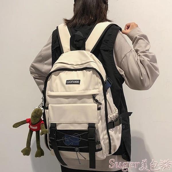 後背包 ZPF後背包韓版高中學生大學書包女大容量初中生旅行背包男潮流冬 新品