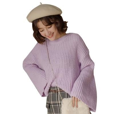 東京著衣-多色馬卡龍OVERSIZE柔軟寬袖毛衣(181851)