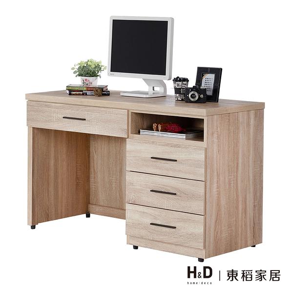 高爾4尺橡木紋書桌(18JF/368-6)【DD House】