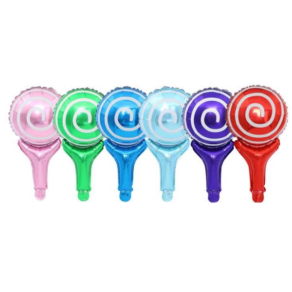 【BlueCat】童話獨角獸棒棒糖鋁膜氣球 佈置