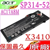 ACER AC17A8M 電池(原廠)-宏碁 Spin 3 SP314-52 電池,SP314-52-30SD,Travelmate X3410 電池,X3410-M,TMX3410-MG