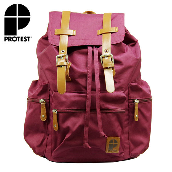PROTEST 女 後背包 (口紅色) BAG
