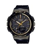 附台灣卡西歐保卡才是公司貨【時間光廊】CASIO 卡西歐 Baby-G 30組圈速記憶 BGS-100GS-1A 跑步錶