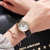 手錶—新款韓版簡約男女學生潮流時尚休閒大氣防水數字情侶手錶一對 依夏嚴選