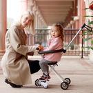 溜娃遛娃神器五輪車簡易輕便摺疊帶娃出門神器寶寶手推車嬰兒童車wy特惠免運