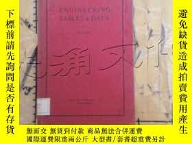 二手書博民逛書店ENGINEERING罕見TABLES AND DATAY252