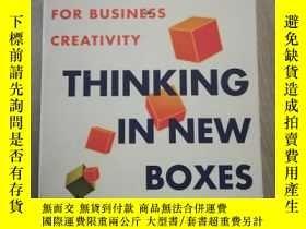 二手書博民逛書店Thinking罕見In New Boxes A New Par