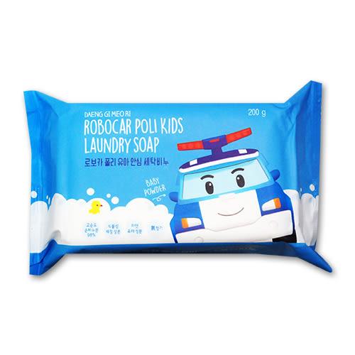 poli 波力救援小英雄嬰兒洗衣皂200g[衛立兒生活館]