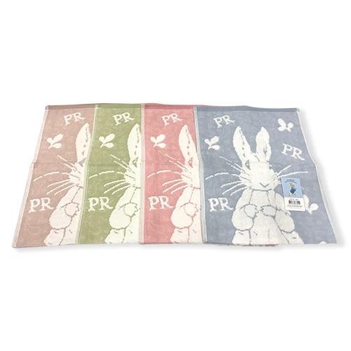 彼得兔/比得兔 紗布無捻提花童巾-4入PR321-KT