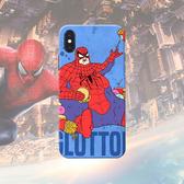 🍏 iPhone11ProMax 蘋果手機殼 可掛繩 酷酷殼 發胖的蜘蛛人 矽膠軟殼 iX/i8/i7/i6s/i5