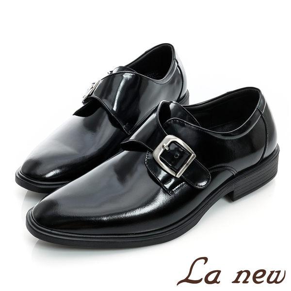 【La new outlet】氣墊紳士鞋 亮面皮鞋(男222030731)