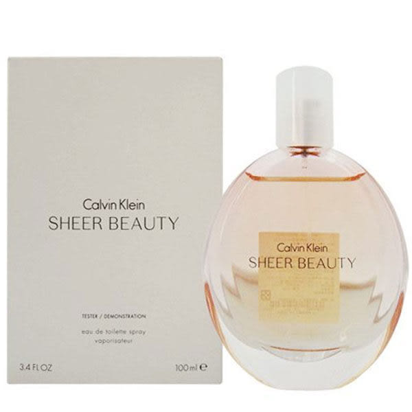 Calvin Klein 純淨雅緻女性淡香水 100ml Tester環保包裝 06172《Belle倍莉小舖》CK Sheer Beauty