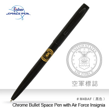 Fisher Cap-O-Matic Space Pen with Air Force Insignia 筆 #M4BAF【AH02140】i-Style居家生活