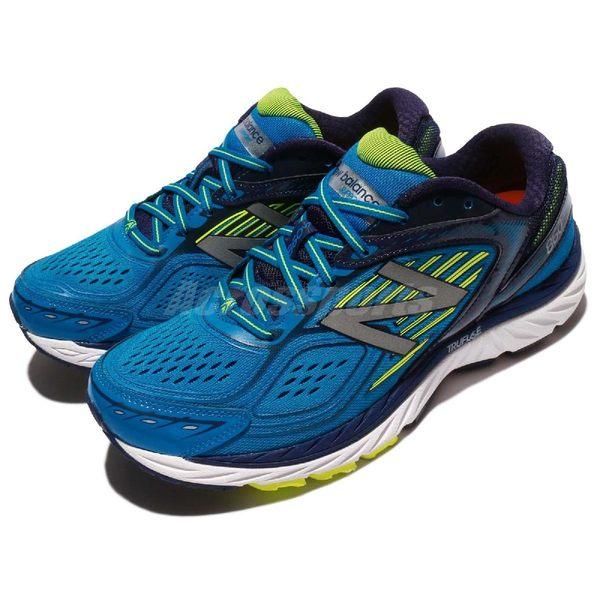 【四折特賣】New Balance 860 系列 4E 超寬楦頭 藍 螢光黃 慢跑鞋 男鞋 【PUMP306】 M860BY74E