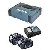 牧田 makita197639-9 鋰電 12V 充電器4Ah*2 充電電池超值組 附牧田工具箱