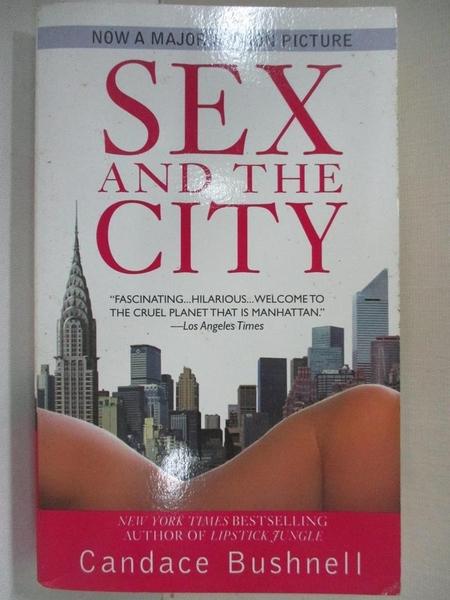 【書寶二手書T2/原文小說_BUM】Sex And the City_Candace Bush