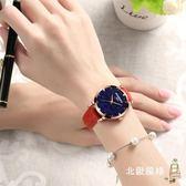 手錶女士時尚潮流女錶皮質帶防水錶學生石英錶正韓超薄