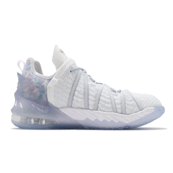 Nike Lebron XVIII NRG GS 18 Play for the Future 明星賽 白 藍 詹姆斯 女鞋 氣墊 LBJ 【ACS】 CT4677-400
