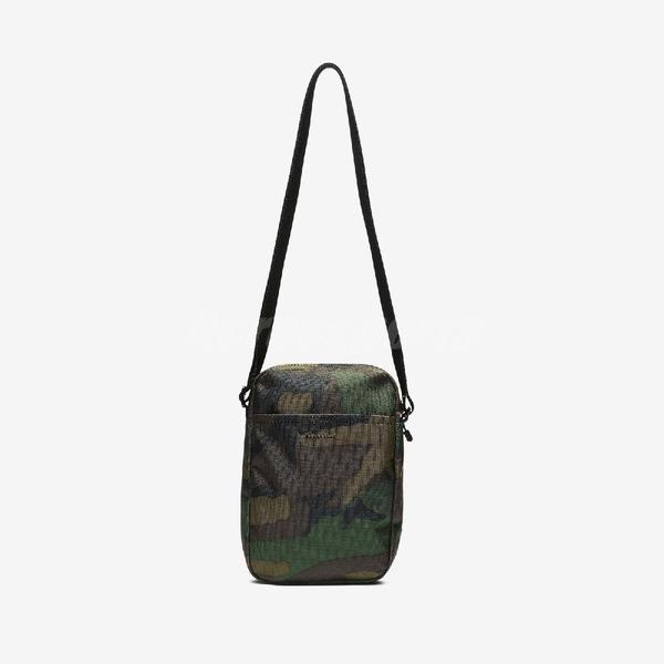 Nike 斜背包 Sportswear Heritage Label Bag 黑 迷彩 男女款 肩背包 包包 【PUMP306】 BA5849-210