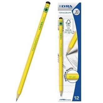 【德國 LYRA】1140102  百年經典黃桿鉛筆 12入/盒