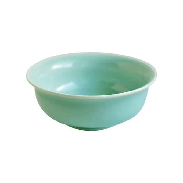 安達窯 青瓷 反口碗