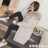 新品ins羽絨棉服外套女冬季厚棉襖中長款韓版寬鬆棉衣面包服『快速出貨』