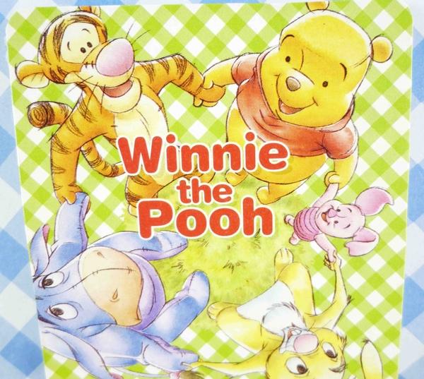 【震撼精品百貨】Winnie the Pooh 小熊維尼~卡片-維尼家族圖案