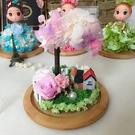 永生花~不凋花,粉色櫻花