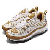 Nike Wmns Air Max 98 Phantom 米白 咖啡 氣墊 女鞋 運動鞋【PUMP306】 AH6799-003