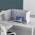 辦公桌面隔離擋板間隔屏風防飛沫學生課桌考試防偷窺隔音隔斷板快速出貨