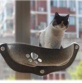 貓吊床 貓吊床可拆洗掛窩吸盤式貓曬太陽吊床玻璃陽臺窗戶貓窩貓咪用品【好康89折限時優惠】