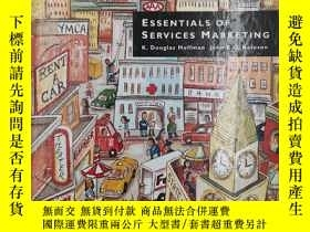 二手書博民逛書店Essentials罕見of Services Marketin