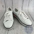 BRAND楓月 PRADA 白色 皮革 休閒 平底鞋 休閒鞋 小白鞋 尺寸36