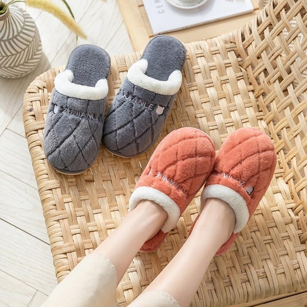 買一送一新款棉拖鞋女冬季居家用