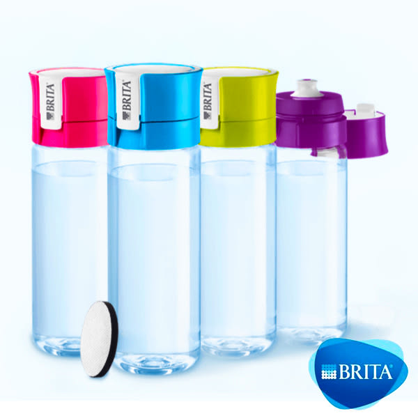 【BRITA】Fill&Go 隨身濾水瓶(600ml) 附贈專用提帶