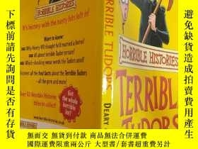 二手書博民逛書店The罕見Terrible Tudors (Horrible Histories): 《可怕的都鐸王朝》(可怕的歷
