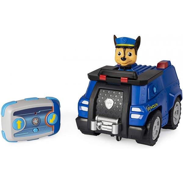 《 汪汪隊立大功 paw patrol 》無線遙控車組-阿奇 (藍) / JOYBUS玩具百貨