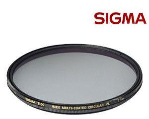 SIGMA 52mm EX CPL 偏光鏡 ★出清特價★ (3期0利率 免運 恆伸公司貨) 薄框多層膜廣角環形偏光鏡