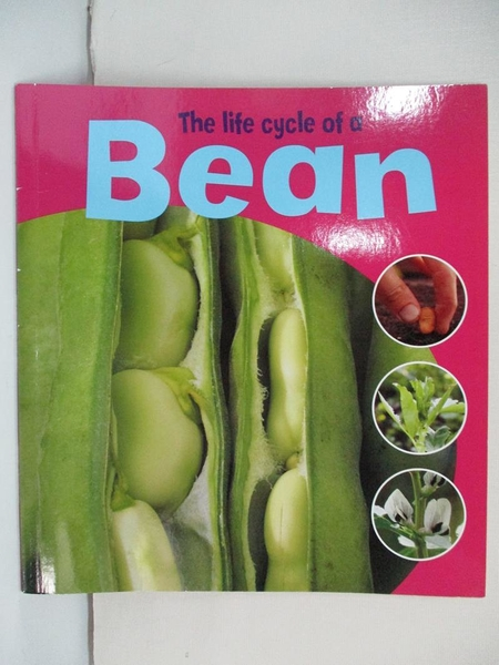 【書寶二手書T1/少年童書_EO4】The Life Cycle of a Bean