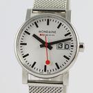 【萬年鐘錶】MONDAINE 瑞士國鐵  時光鋼鍊編織錶帶 30mm  XM-66911SM