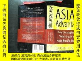 二手書博民逛書店Asian罕見Advantage: Key Strategies For Winning In The Asia-