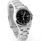 CASIO卡西歐小錶框黑面手錶 柒彩年代【NEC82】