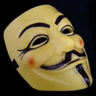 電影主題面具 V字仇殺隊  革命