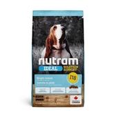 寵物家族-紐頓Nutram-I18體重控制犬雞肉碗豆11.4KG