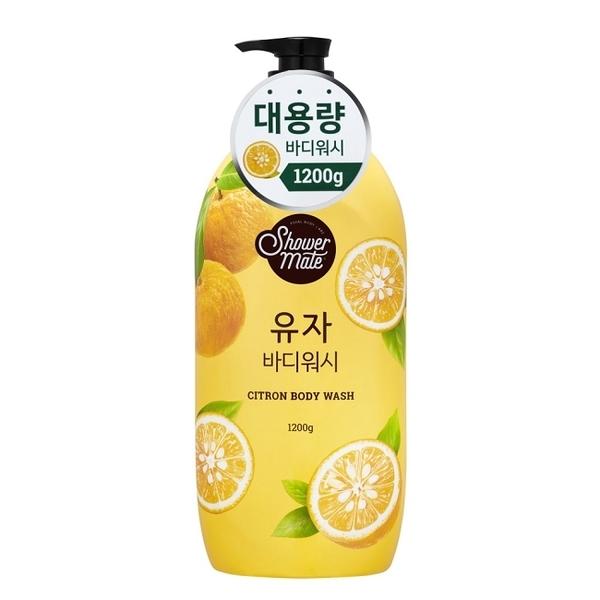 【Shower Mate】微風如沐果香沐浴乳(香甜柚)  1200ML