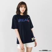 STAYREAL 潮運動REAL寬版T