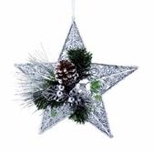 綠境森林星星松果吊飾30cm