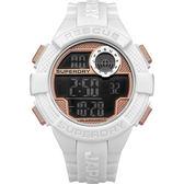 Superdry極度乾燥  活力進化運動電子腕錶-SYG193WRG