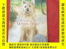 二手書博民逛書店KATE罕見DICAMILLO BECAUSE OF WINN
