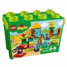 樂高積木 LEGO《 LT10864 》2018 年 Duplo 幼兒系列 - 大遊樂場顆粒盒 ╭★ JOYBUS玩具百貨
